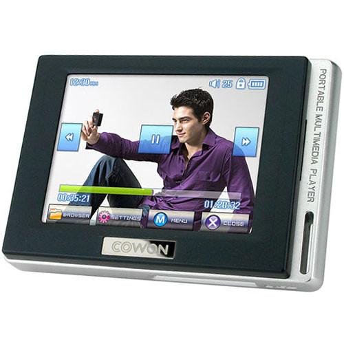 COWON D2 4GB  Personal Media Player - Black