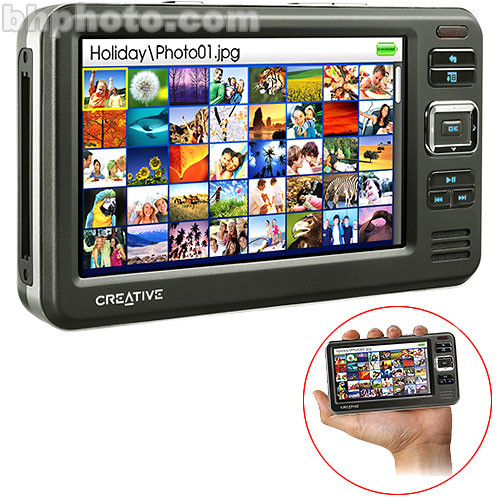 Creative Labs Zen Vision W 30GB Personal Video and MP3 Player