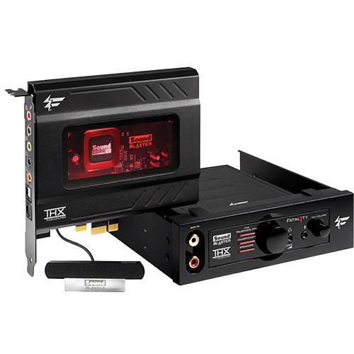 Creative Labs Sound Blaster Recon3D Fatal1ty Champion PCIe Sound Card