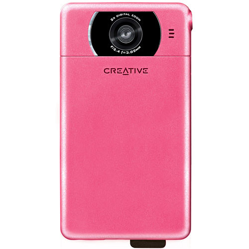 Creative Labs Vado Pocket Video Camera (Pink)