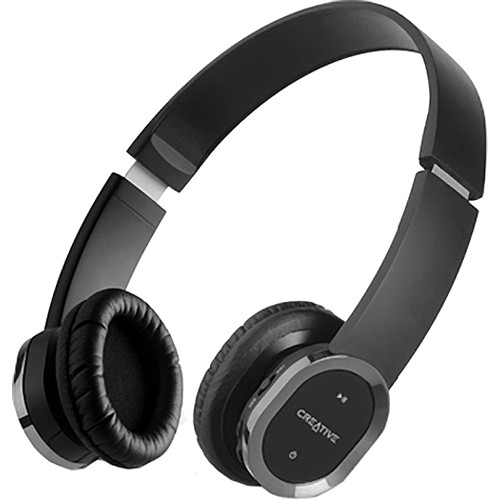 Creative Labs WP-450 Wireless Bluetooth Headphones with Microphone