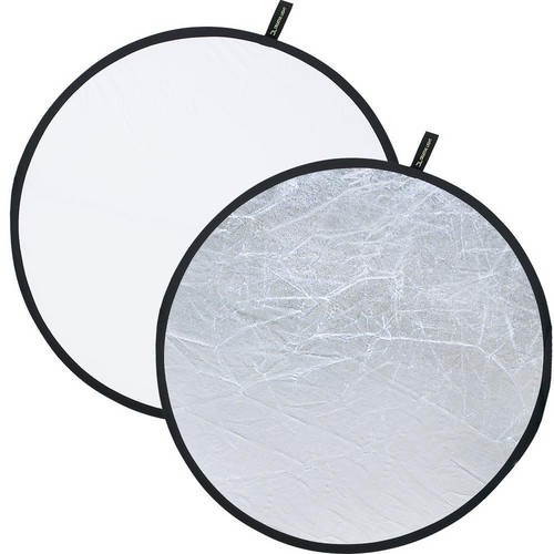 "Creative Light 20"" White/Silver Reflector"