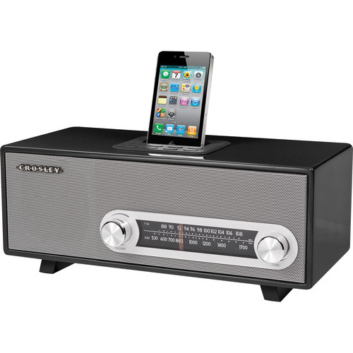 Crosley Radio CR3001A Ranchero (Black)
