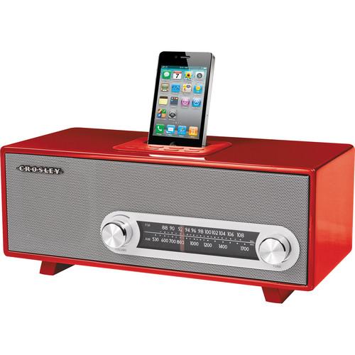 Crosley Radio CR3001A Ranchero (Red)