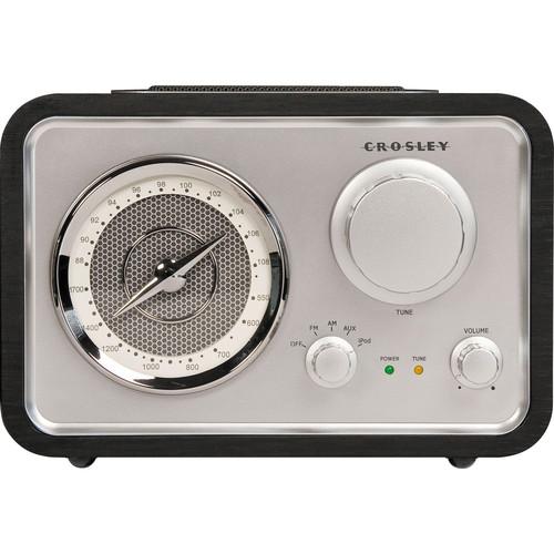 Crosley Radio CR3009A iSolo Radio (Black)