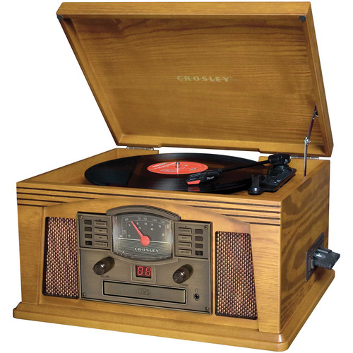Crosley Radio CR42 Lancaster Entertainment Center (Oak)