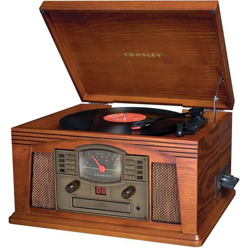 Crosley Radio CR42 Lancaster Entertainment Center (Paprika)