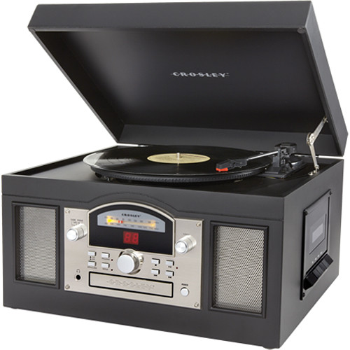 Crosley Radio CR6001 Archiver USB Turntable (Black)