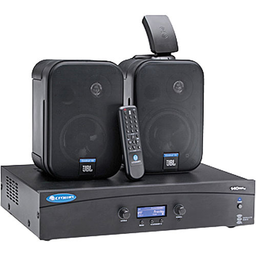 Crown Audio 140MAx PACK XM Radio, Mixer-Amplifier, and Loudspeaker System
