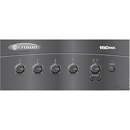 Crown Audio 160MA 4 x 1 60W Commercial Mixer/Amplifier