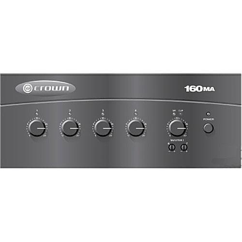 Crown Audio 160MA 4 x 1 60W Commercial Mixer/Amplifier