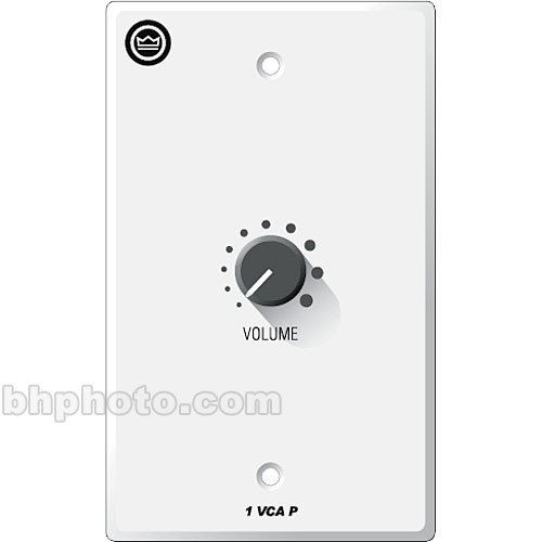 Crown Audio 1-VCAP - 1-Gang Wall Control Panel for VCA-MC