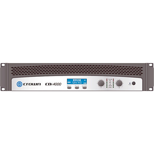 Crown Audio CDi 4000 Two-Channel Commercial Amplifier (1200W/Channel at 4 Ohms, 70V/140V)