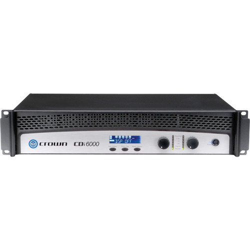 Crown Audio CDi 6000 Solid-State 2-Channel Amplifier (2100W/Channel @ 4 Ohm Dual)