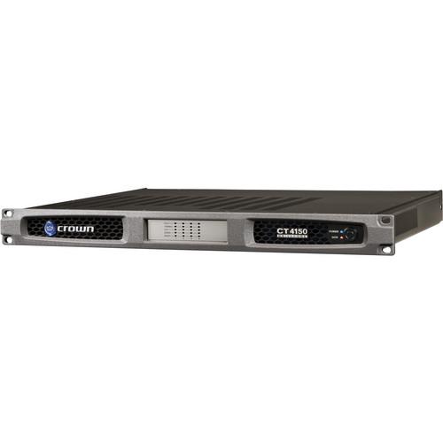 Crown Audio CT4150 4-Channel Rackmount Power Amplifier (150W/Channel @ 8 Ohms)