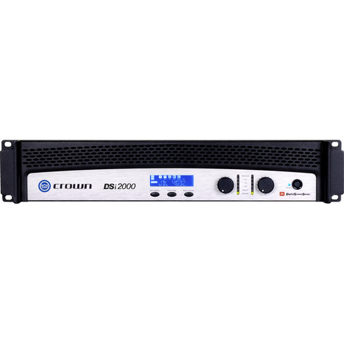 Crown Audio DSi-2000 2-Channel Solid-State Power Amplifier
