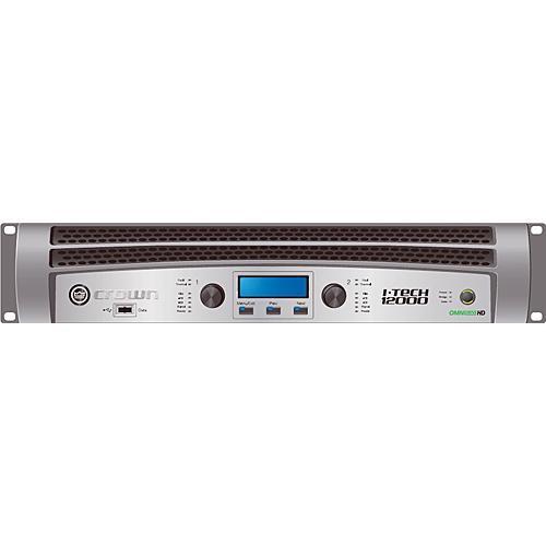 Crown Audio I-T12000HD Rackmount Stereo Power Amplifier (2100W/Channel @ 8 Ohms)