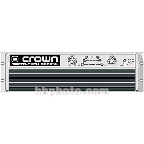 Crown Audio MA-5002VZ Macro-Tech Amplifier