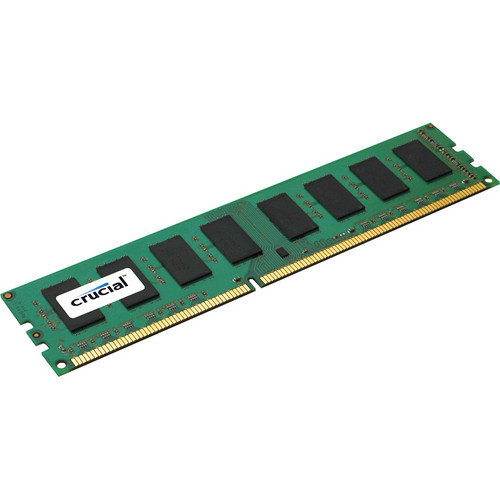 Crucial 8 GB 240-Pin DIMM DDR3 PC3-10600 ECC Memory Module
