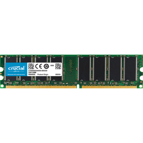Crucial 1GB DIMM Memory for Desktop
