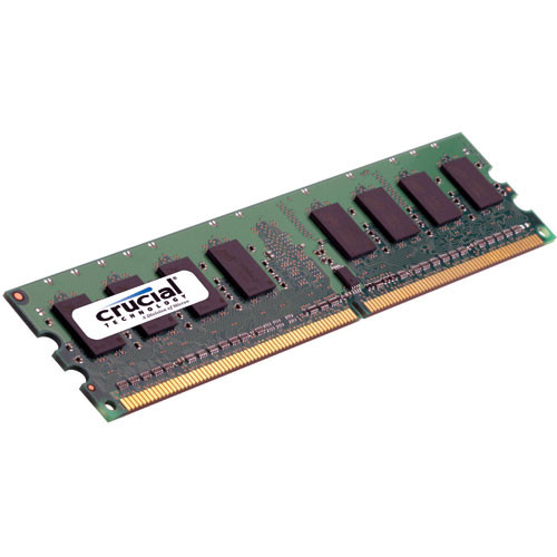 Crucial 2GB DIMM Memory for Desktop