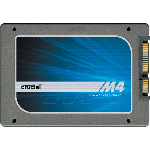 "Crucial 256GB m4 SSD 2.5"" Solid State Internal Drive"