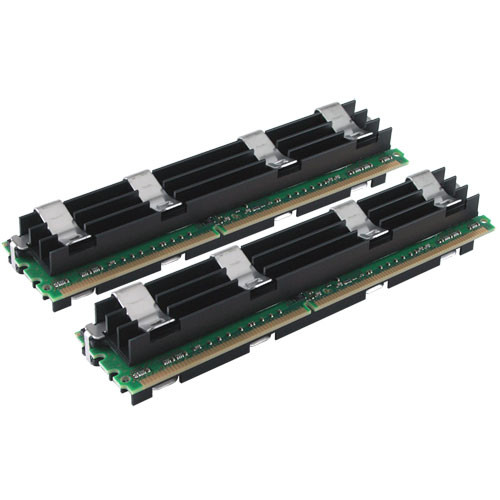 Crucial 2GB (2x1GB) FB-DIMM Mac Pro Memory Upgrade Kit