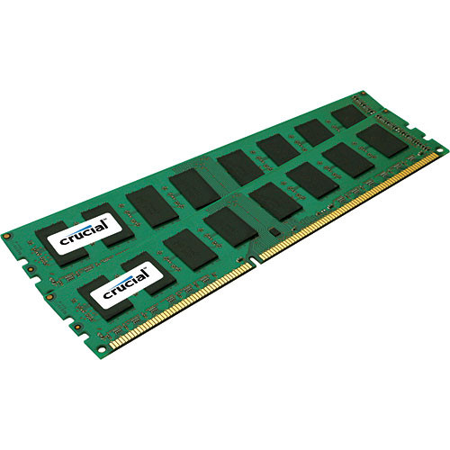 Crucial 4GB (2x2GB) DIMM Desktop Memory Upgrade Kit