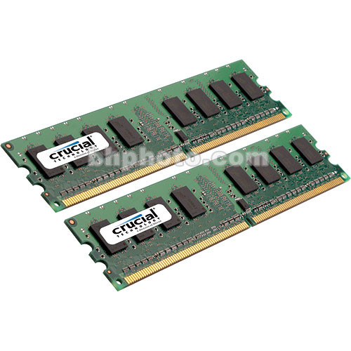 Crucial 4GB (2x2GB) FB-DIMM Desktop Memory Upgrade Kit