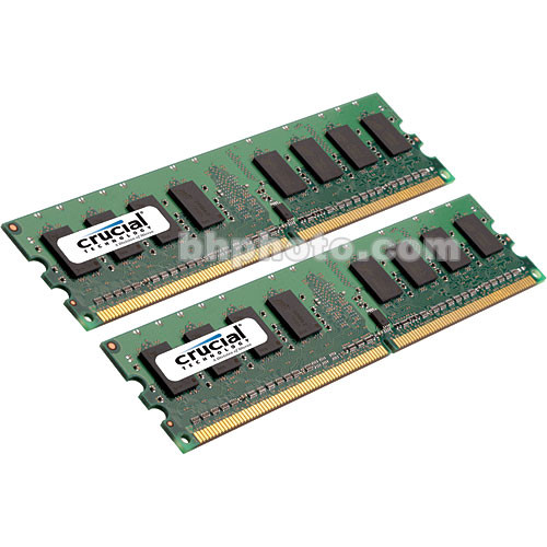 Crucial 8GB (2x4GB) FB-DIMM Desktop Memory Upgrade Kit