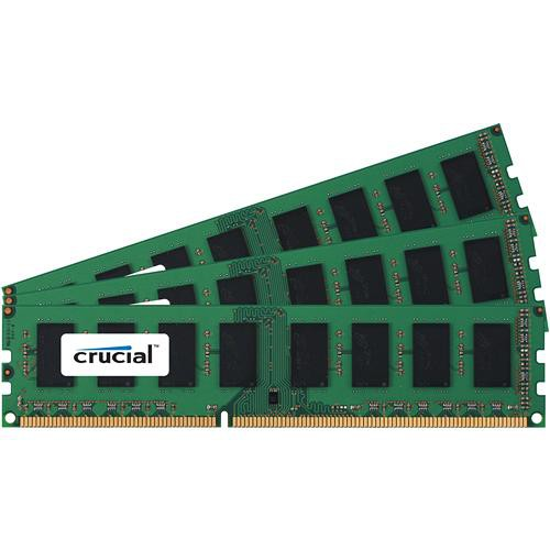 Crucial 6GB (3x2GB) DIMM Desktop Memory Upgrade Kit
