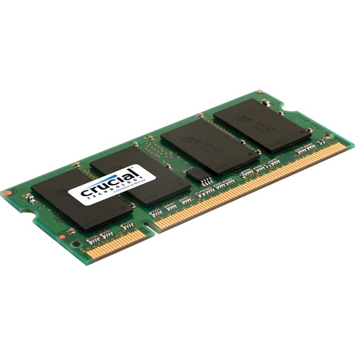 Crucial 4GB SO-DIMM Memory Upgrade for Notebook