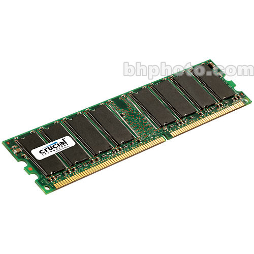 Crucial 512MB DIMM Memory for Desktop