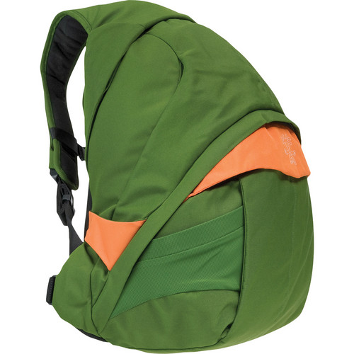 Crumpler Customary Barge Deluxe Backpack ( Large, Olive with Yellow Accents)