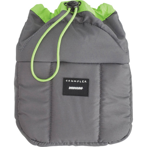 Crumpler Haven Camera Pouch (Small, Gray/Green)