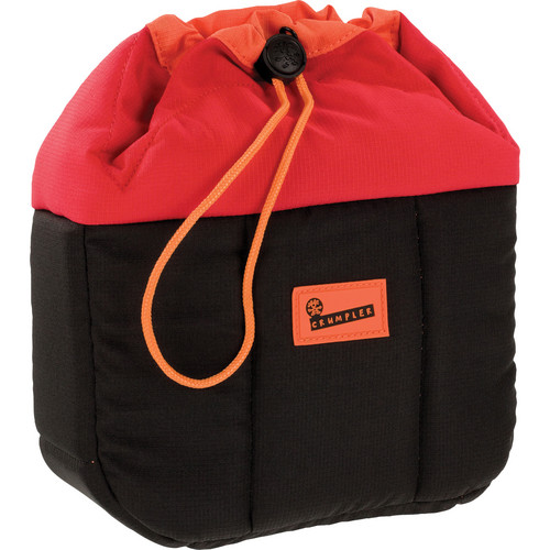 Crumpler Haven Camera Pouch (Medium, Red/Black)
