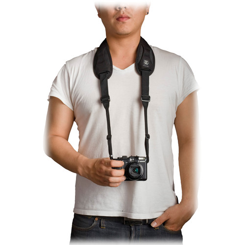 Crumpler Industry Disgrace Camera Strap (Black)