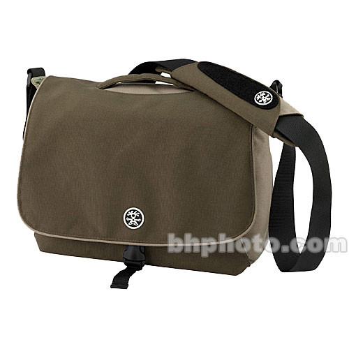 Crumpler 7 Million Dollar Homes Bag (Dark Brown with Oatmeal and Light Olive Accent)
