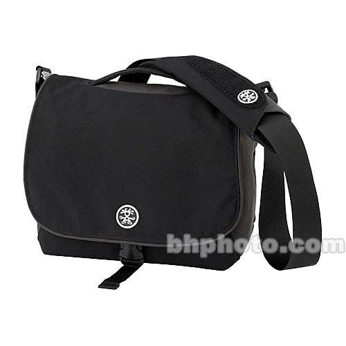 Crumpler 7 Million Dollar Homes Bag (Black with Gun Metal Grey and Oatmeal Accent)