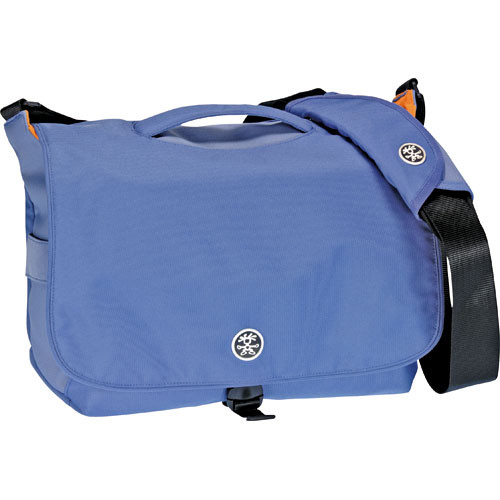 Crumpler 7 Million Dollar Homes Bag (Purple with Light Purple and Light Orange Accent)