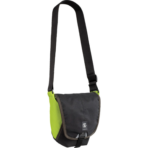 "Crumpler 2 Million Dollar Home Bag (5.9 x 7.7 x 3.9"", Black/Olive Green)"