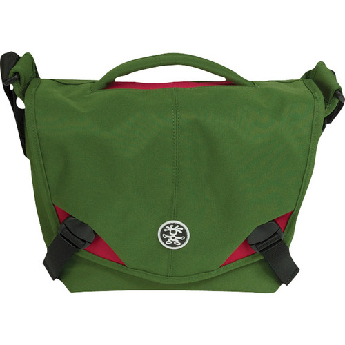 Crumpler 5 Million Dollar Home Camera Bag (Olive with Red Accents)