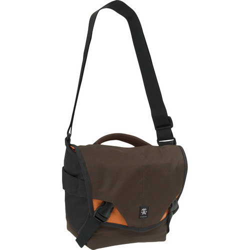 Crumpler 5 Million Dollar Home Camera Bag (Brown, Orange, Gun Metal Gray)