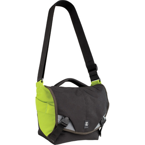 Crumpler 5 Million Dollar Home Bag (Black and Olive Green)