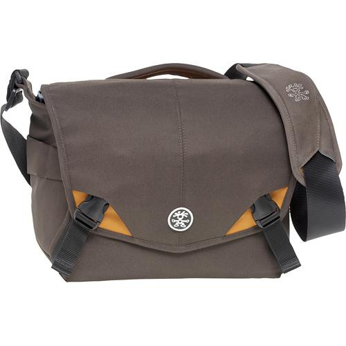 Crumpler 6 Million Dollar Home Camera Bag (Brown with Orange Accents)