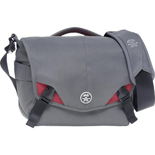 Crumpler 6 Million Dollar Home Camera Bag (Gray with Red Accents)