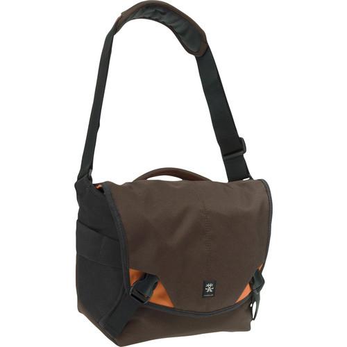 Crumpler 6 Million Dollar Home Bag (Brown/Orange/Gun Metal)