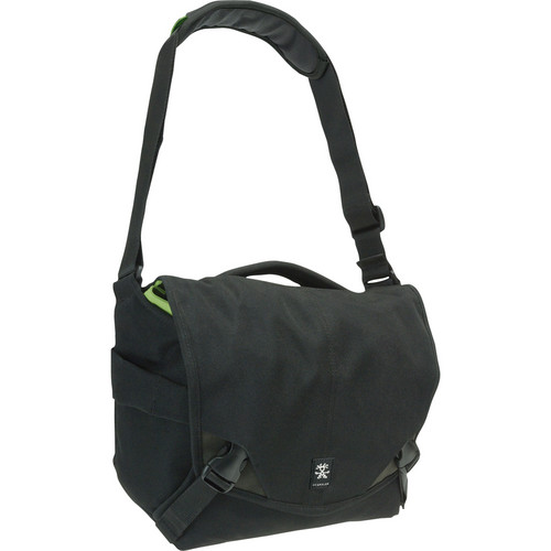 Crumpler 6 Million Dollar Home Bag (Black/Gun Metal)