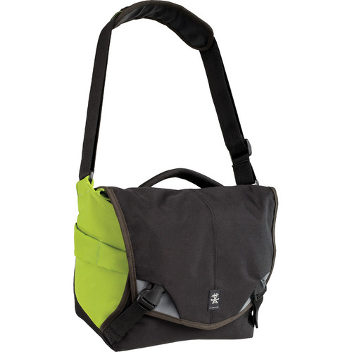 Crumpler 6 Million Dollar Home Bag (Black/Olive Green)