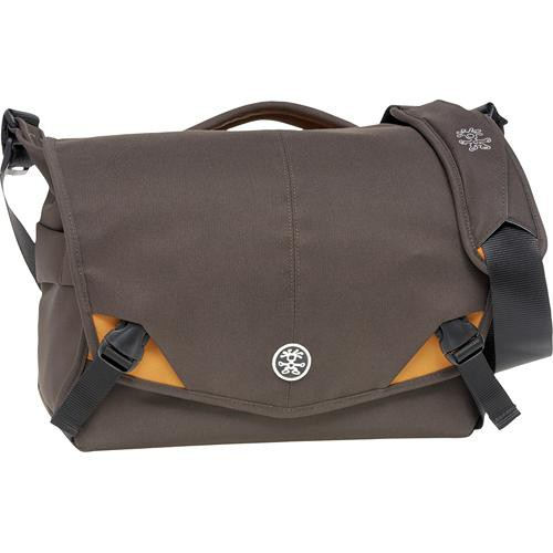 Crumpler 7 Million Dollar Home Camera Bag (Brown with Orange Accents)